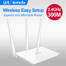 Tenda F3 300Mbps Wireless WiFi Router,Broadcom Chip,Superior and Affordable Router,Perfect to Small & Medium House,Easy Setup(China (Mainland))