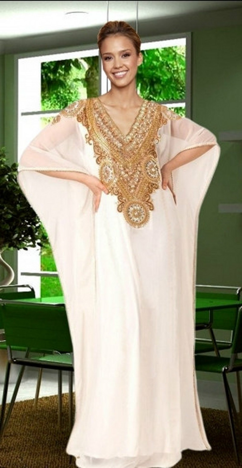 Online get cheap white with gold maternity dress aliexpress gold and white dubai evening gowns 2017 arabic kaftan dresses a line v neck bat short ombrellifo Image collections