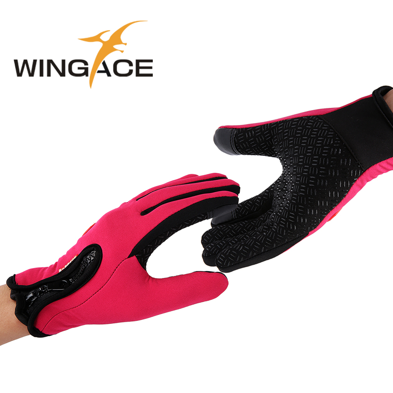 Mittens for lovers Fleece gloves touch screen Gloves for smartphones ladies mens heated warm Mitts women winter 2015 gants femme<br><br>Aliexpress