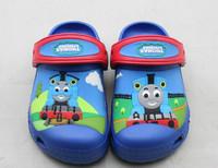 Новая мода милый мультфильм Томас забивают сад обуви для детей сандалии Тапочки мальчиков и девочек плоский