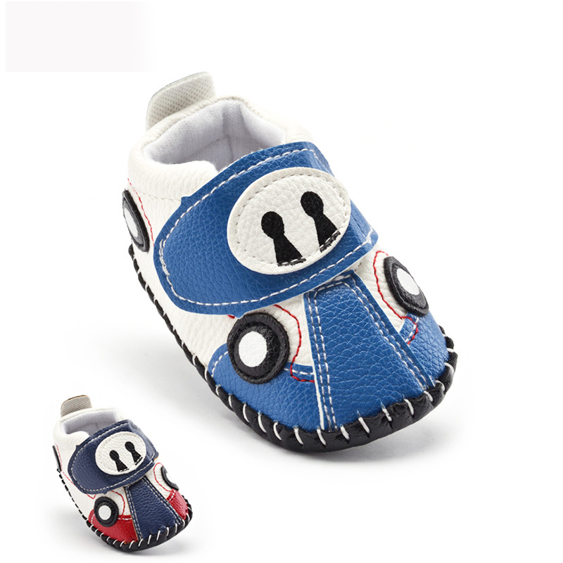 Red Blue Automotive Style Infant font b Shoes b font Girls and Boys 2016 New Casual
