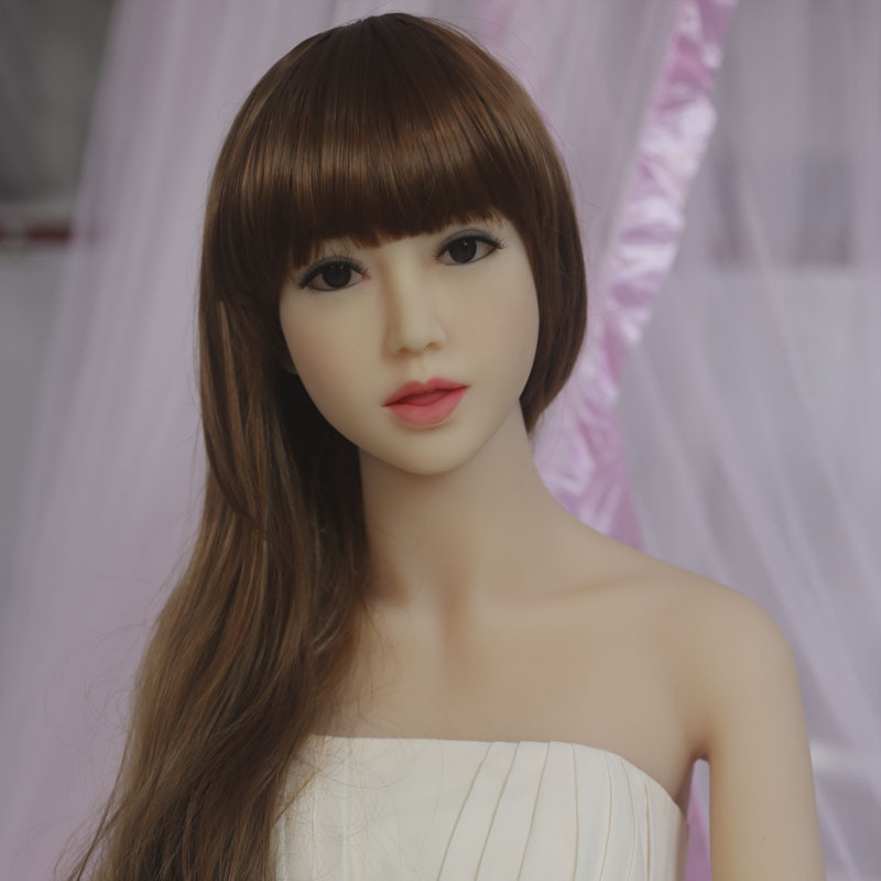 NEW 153cm Top quality Tanned skin lifelike silicone sex dolls big breast, full size love doll, real doll adult, oral sex toy(China (Mainland))