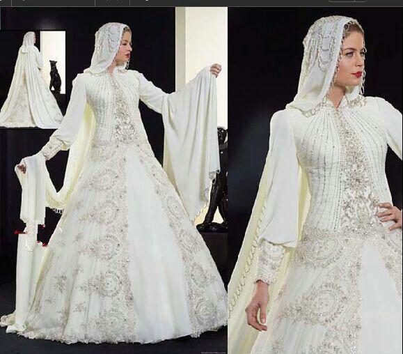 Turmec turtleneck long sleeve wedding dress for Long sleeve turtleneck wedding dress