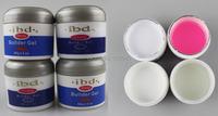 4 Colors IBD Builder Gel 2oz 56g/pcs Set of 4pcs For UV Lamp Curing Nail Art Desgin Tool 100% High Quality Wholesale 720