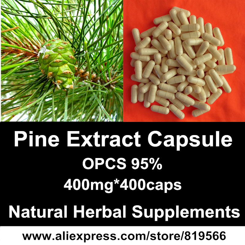 Pine Needles Extract Powder Capsules Pine Tree Extract Caps Natural Herbal Nutrition OPCS Dietary Supplements<br><br>Aliexpress