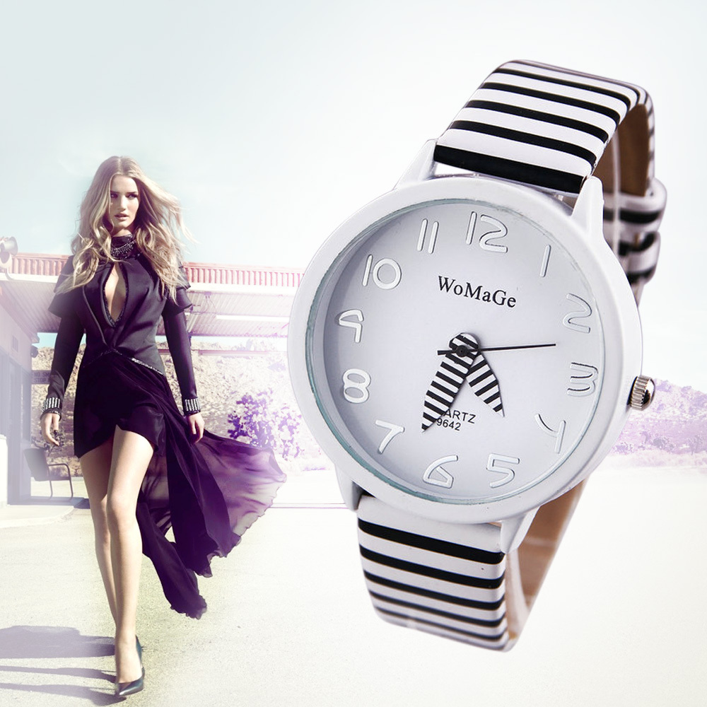 2015 WaMaGev YJP29 Ladies Zebra Pattern Relogio Feminino Quartz Watch Women's Fashion Analog Casual Wristwatches(China (Mainland))