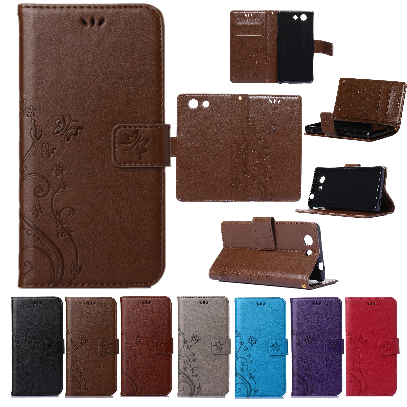 Hot Wallet Case For Sony Xperia Z3 Mini Compact Magnetic Flip PU Leather With Frame Card Slot Smart Stand Skin Phone Bag(China (Mainland))