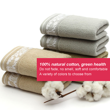 JZGH 32*72cm Soft Elegant Cotton Terry Hand Towels for Adults,Decorative Face Bathroom Hand Towels,Toallas de Mano,T970