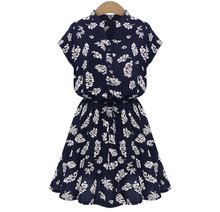 Large Size 2015 Hot Fashion Women Party Dress Floral Print Batwing Sleeve European Style Summer Dresses Plus Size Women Clothing(China (Mainland))