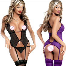 Sex Women Sleepwear Underwear Sexy lingerie Hot Dress font b Babydoll b font Costumes For Women