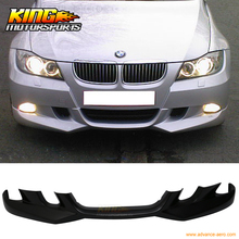 Buy 05 06 07 08 BMW E90 3-Series AC Style Front Bumper Lip PU Painted Jet Black for $159.59 in AliExpress store