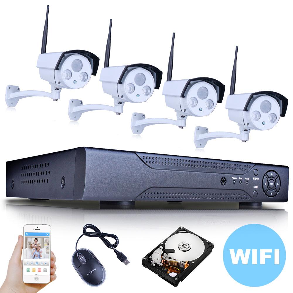 P2P 8CH NVR Wireless Camera WiFi 1080P Network IP Camera Array ONVIF H.264 Home Security Camera Video Surveillance CCTV System<br><br>Aliexpress