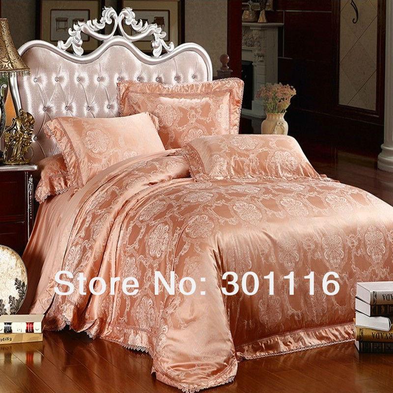 For sale 15 luxury jacquard bedding set duvet cover set for Bedding sets sale