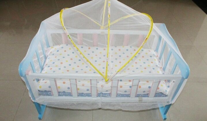 Wholesale Baby Crib Mosquito Net Tent Infant Bed Canopy Crib Netting