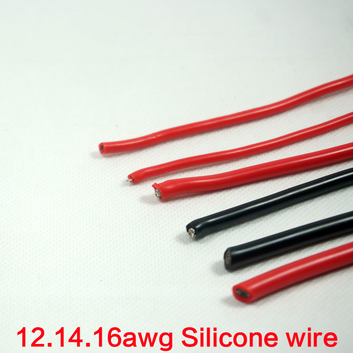 16Awg Red Silicone Wire 12awg 14awg Electric Diy drone kit 12 Awg Wire Quadcopter KIT Rc Airplane Parts 16awg Silicone Wire(China (Mainland))