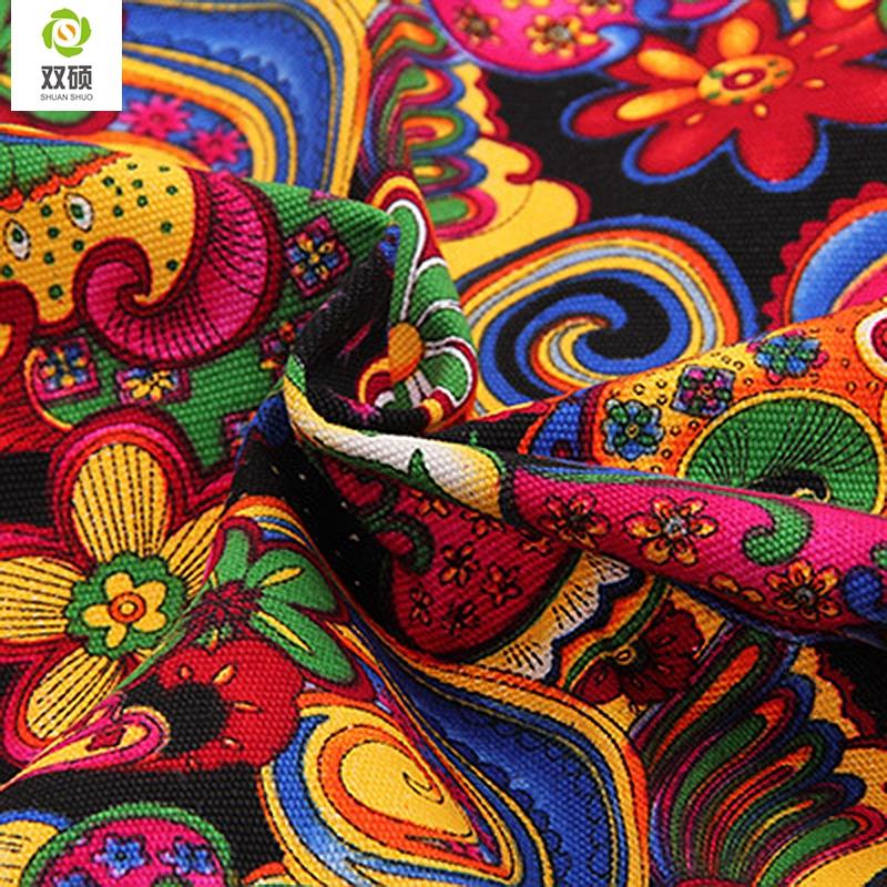 Compra tela de lona de algod n online al por mayor de - Telas de tapiceria online ...