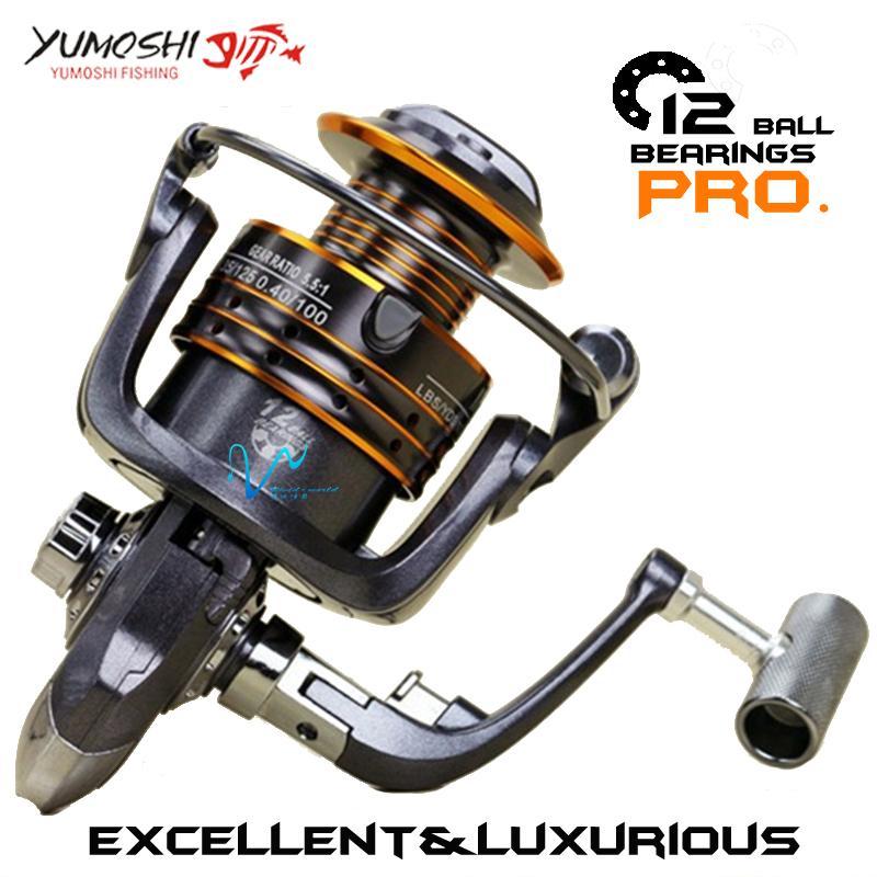 Vw Fishing reel Metal main body Mix drag 12kg/24lb 12 BB 5.5:1 Gear Ratio Spinning reel Lightwegth super sturdy fishing gear(China (Mainland))