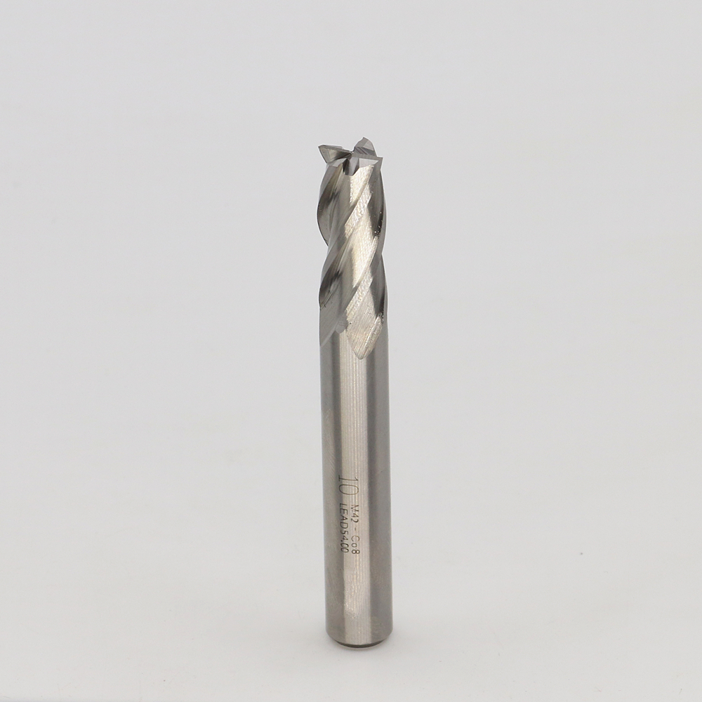 New 4Flute die 10mm Superhard cutters Cobalt cemented carbide End mills M42-Co8 CNC tool milling cutter 4F10*10*25*80(China (Mainland))