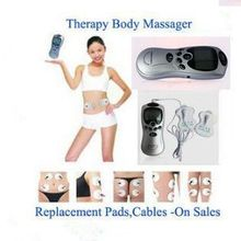 Biutee Health Care Electric Tens Acupuncture Full Body Massager Digital Therapy Machine 2 Pads For Back