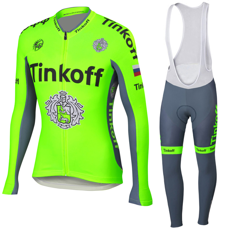 Saxo tinkoff 2016 ropa ciclismo hombre cycling clothing men long sleeves mtb cycling jersey bike maillot abbigliamento ciclismo от Aliexpress INT
