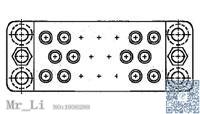 203909-2[ &amp; Component Sockets 20 POS. BLOCK] Mr_Li<br><br>Aliexpress