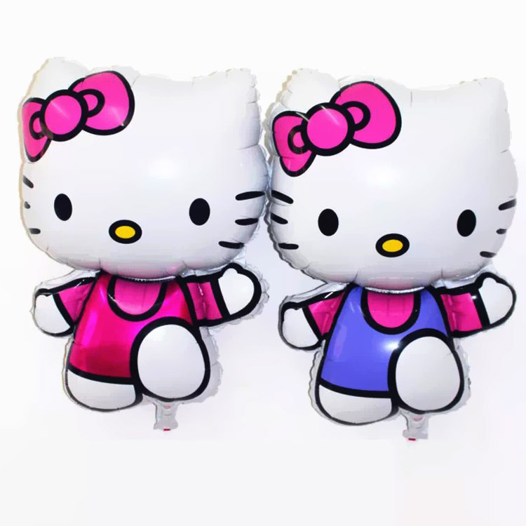 75*48cm Oversized Hello Kitty Cat Foil Balloons Cartoon Birthday Globos Party Decoration Inflatable Air Balloons Classic Toys<br><br>Aliexpress