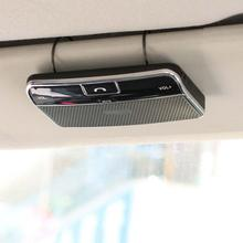 New Arrival Car Kit Clip Hands free Multipoint Wireless Bluetooth 4.0 Speakerphone Speaker(China (Mainland))