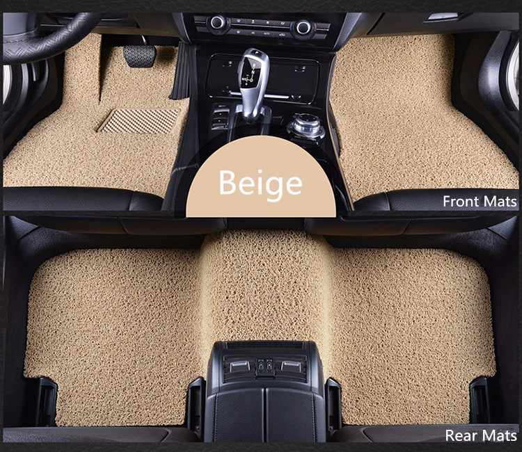 8 colors Custom fit car floor mats Case for 911 Porsche Cayenne SUV Cayman Macan Panamera car-styling carpet liner heavy duty
