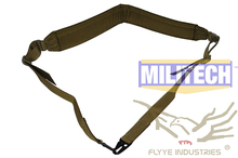 Military Spec Coyote Brown CB Machine Gun Tactical Safety LMG Single Point Sling FLYYE FY-SL-S006 LMG Single Safety Sling(China (Mainland))