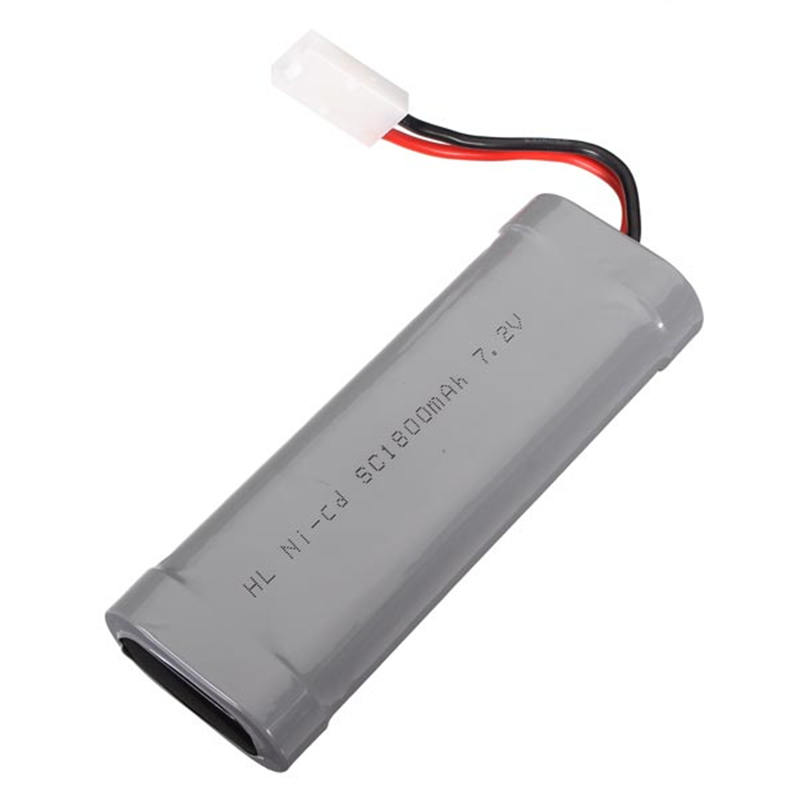 7.2V Ni-Cd 1800mAh Rechargeable Battery For RC Boat RC Car<br><br>Aliexpress