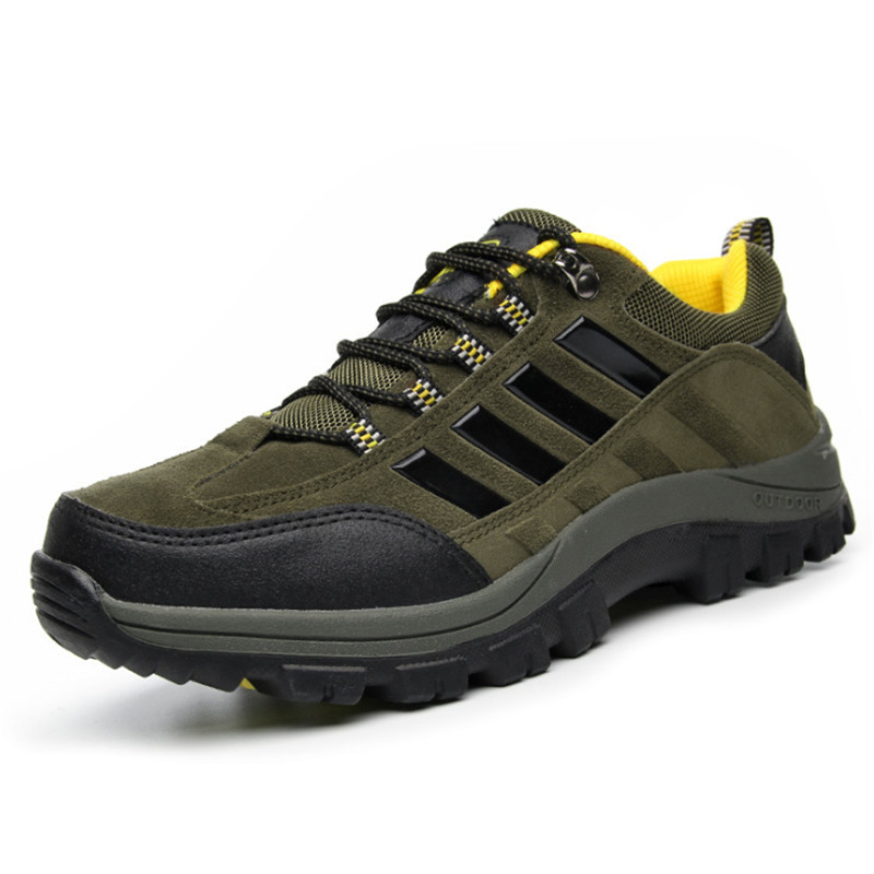 Genuine Leather Mens Outdoor Shoes Mountain Climbing Lace Up Casual Shoes 2016 Fashion Mens Shoes Brand 2016<br><br>Aliexpress