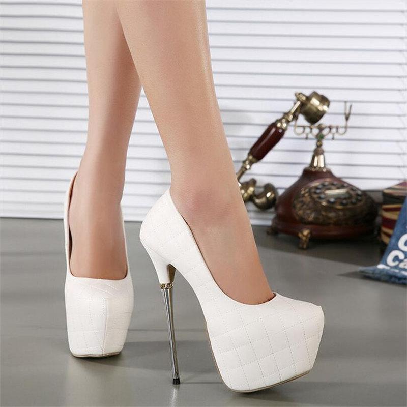 2016 new women's pumps  fashion Women High Heels Sexy Woman platform Pumps Ladies High Heels Shoes size 35-40