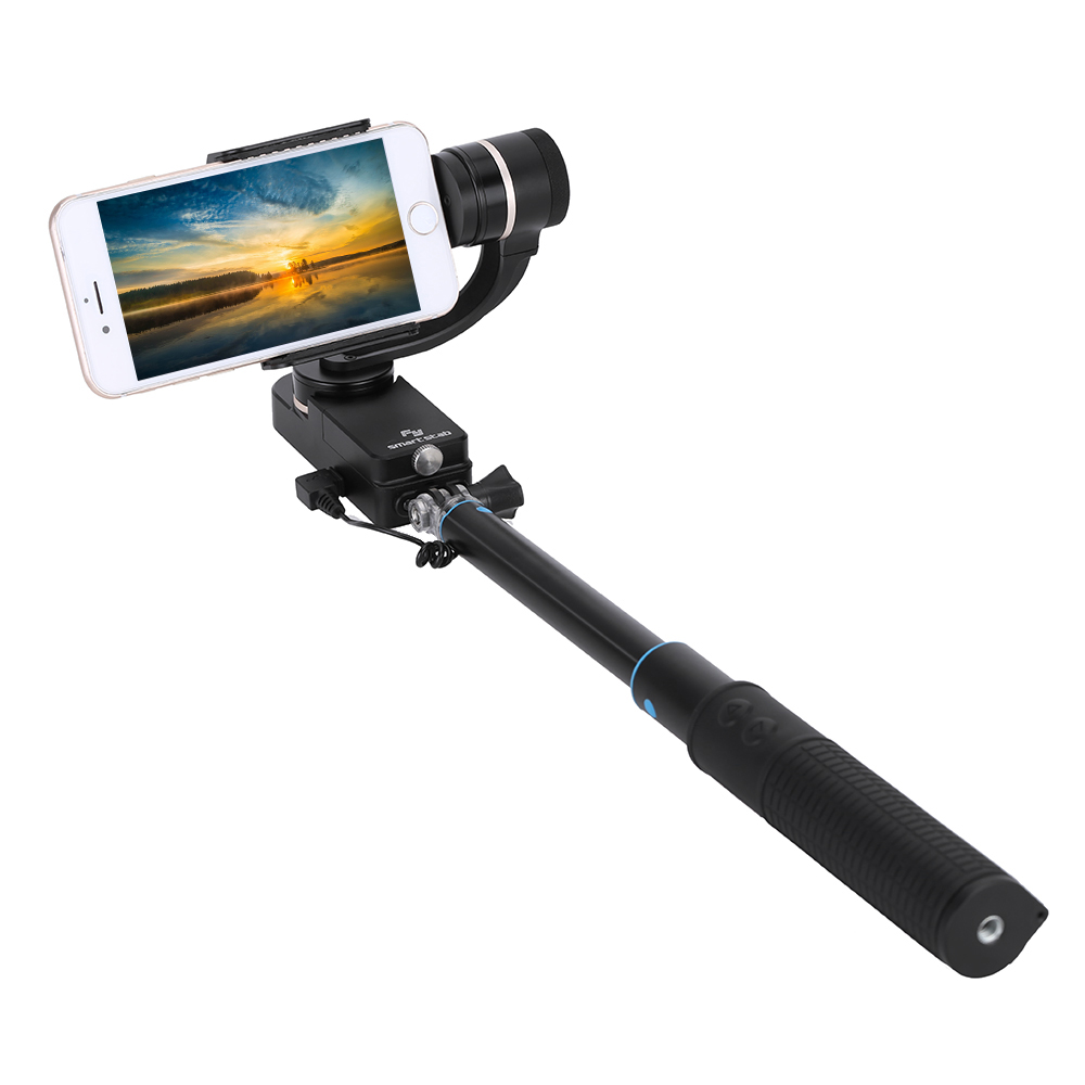 newest feiyu tech smartstab wearable gimbal 2 axis smartphone selfie handheld gimble stabilizer. Black Bedroom Furniture Sets. Home Design Ideas