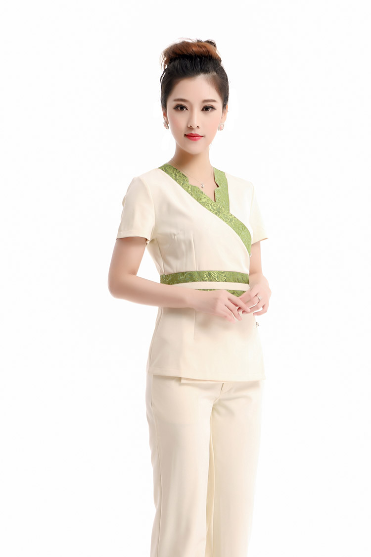 2015 free shipping summer styles Thai Spa massage technicians wear sexy Beauty Salon Nursing Uniform Workwear Clothing