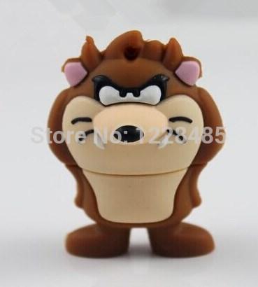 USB creativo real capacity cute lion usb flash drive 2gb 4gb 8gb 16gb 32gb memory stick drive pen driveS50(China (Mainland))