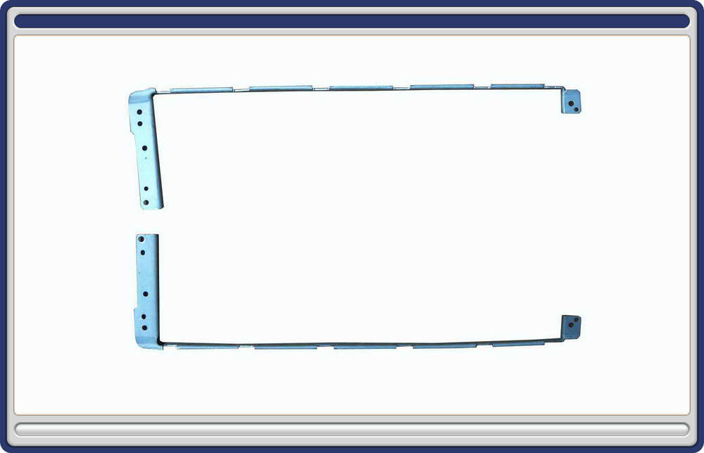 """New Bracket for HP Compaq CQ70 G70 17"""" Series PC Notebook Laptop LCD Hinges Screen Rail one pair Wholesale (H206-CQ70-HK)(China (Mainland))"""
