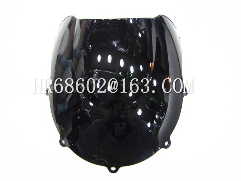 Для Suzuki GSXR 600 750 R маленькие GSXR 600 750 R 1996 1997 1998 1999 96 97 98 99 черный лобового стекла ветрового DoubleBubble