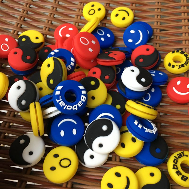 Wholesales (200 pcs/lot) Assorted types Tennis Damper Shock Absorber to Reduce Tenis Racquet Vibration Dampeners(China (Mainland))