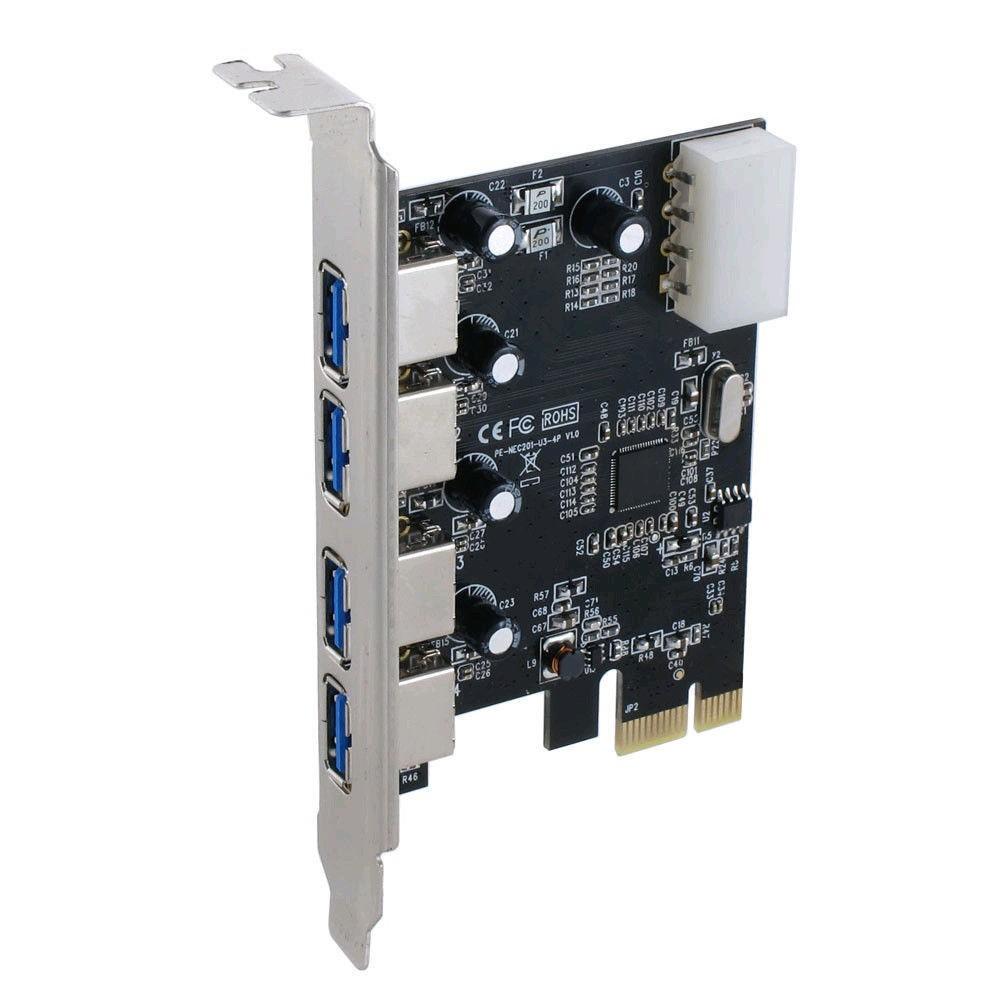 4 port USB 3.0 PCI-e card