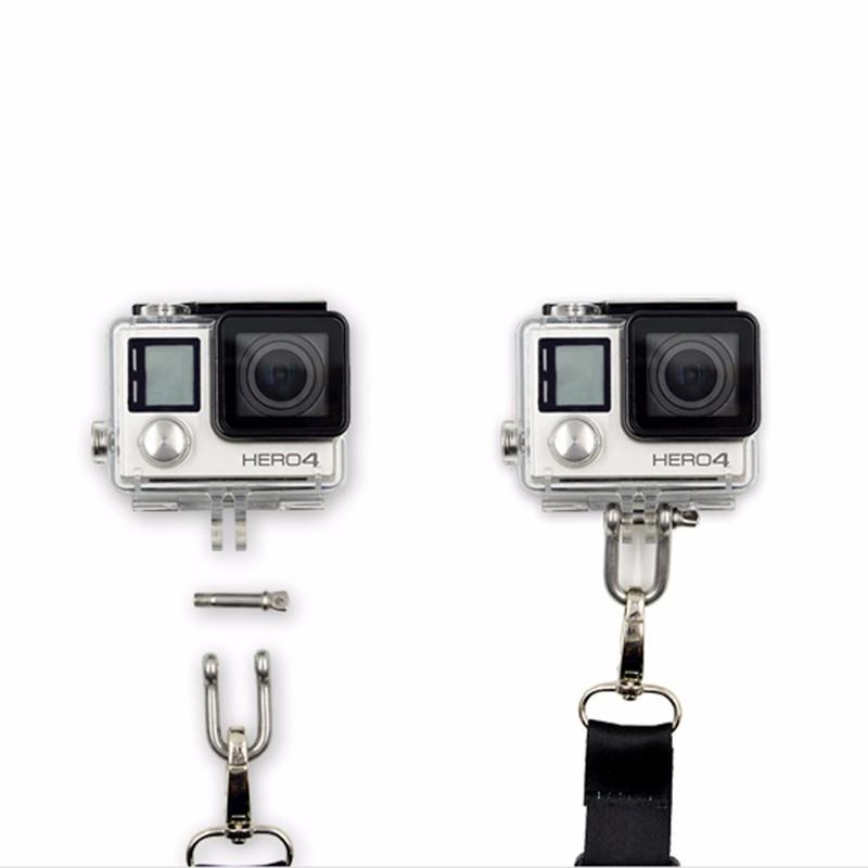Camera Saftey Sling Strap for Xiaomi yi 2 4k Gopro Hero 4/3+/3/2/1 SJCAM SJ4000 SJ5000 M20 Eken H9R Action Camera Accessories