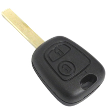 Buy 2 Button Uncut Blade Remote Car Key Case Shell Fob Citroen C1 C2 C3 / Pluriel C4 C5 C8 / Xsara Picasso Cover groove for $1.30 in AliExpress store
