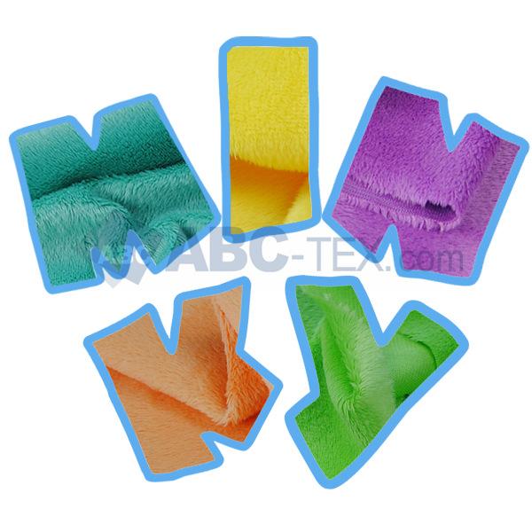 Bébé tissu choisir Minky plaine tissu vendu par 6 pcs/lote, Taille 45 cm * 45 cm laisser un message de couleurs que vous choisissez livraison gratuite(China (Mainland))