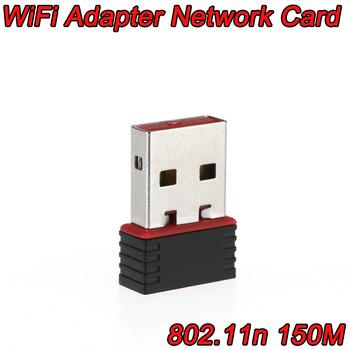 50 шт./лот USB Сети LAN Card Беспроводной Адаптер 2.0 802.11n/g/b 2.4 ГГЦ 150 Мбит Wi-Fi/WLAN nano мини DHL бесплатная доставка
