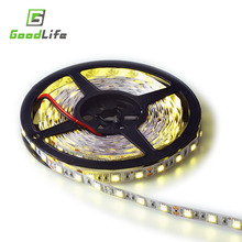Hot Sale LED strip 5050 12V flexible light 60led/m,5m/lot ,RGB, White,Warm white, Cold white,Blue,Green,Red,Yellow,Free shipping(China (Mainland))