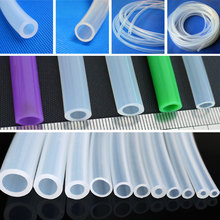 9x12 Clear Food Grade Silicone Tube Hose Pipe ID 9mm OD 12mm New High Quality(China (Mainland))