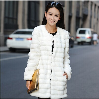2015 winter keep warm women faux fur coats jackets long sleeve parka ukraine popular female coat ch437