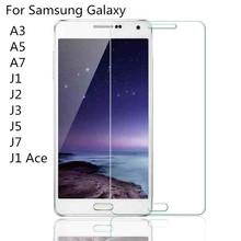samsung Tempered Glass Samsung Galaxy J1 J2 J3 J5 J7 A3 A5 A7 A8 A9 Alpha Grand Prime Premium Screen Protector Film - Conscience store