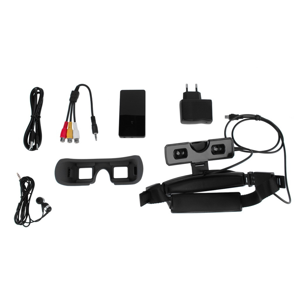 New 80 inch Widescreen Virtual Display 3D Video Glasses Goggle 430 * 240 Wholesale(China (Mainland))