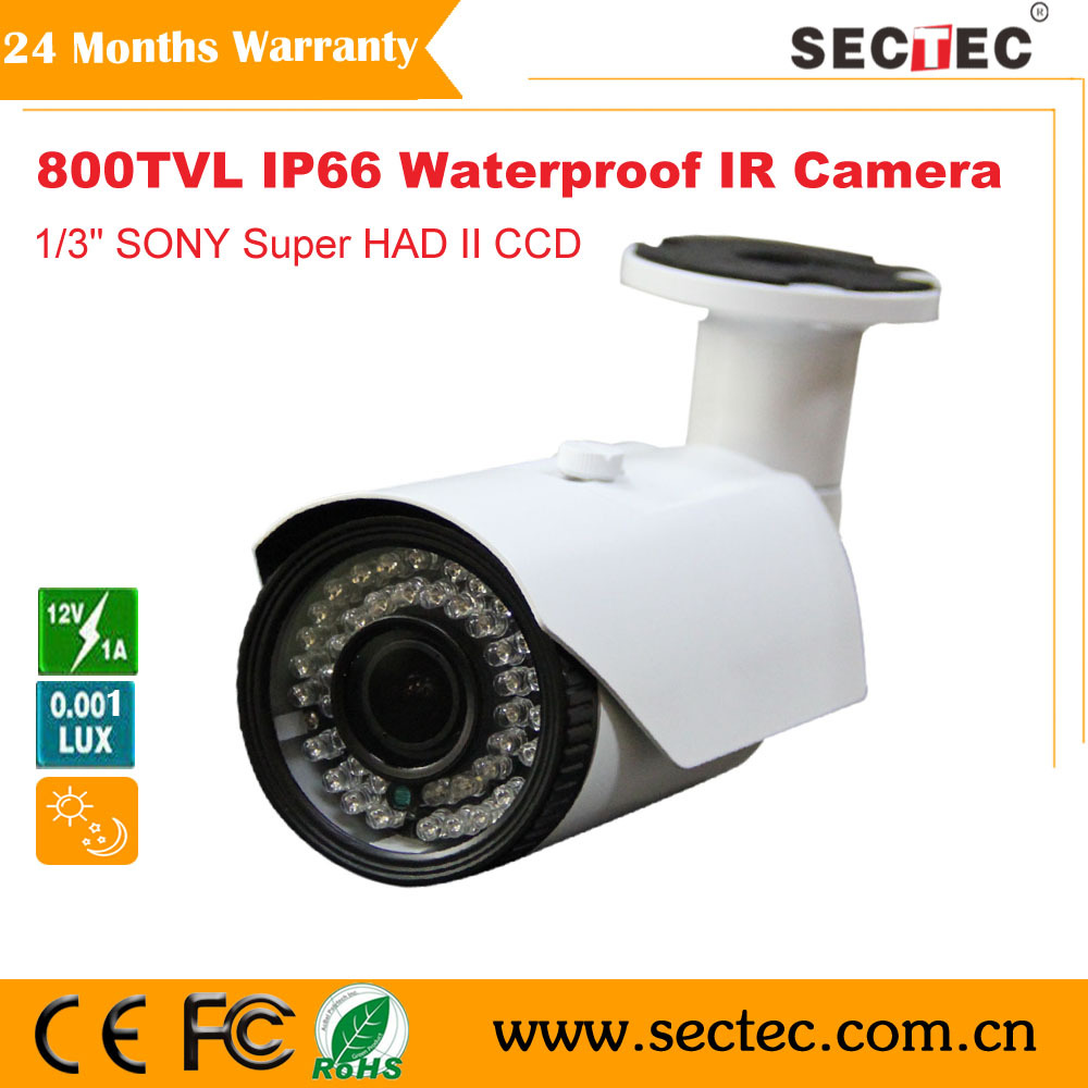 CCTV Camera 800tvl SONY CCD sensor waterproof IR security Camera whole sale and retail(China (Mainland))