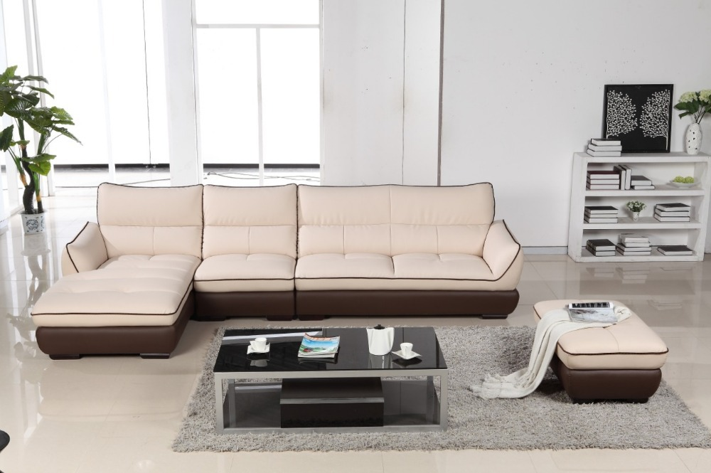 Modern new design leather corner sofa set 2816jpg : Modern new design leather corner sofa set 2816 from www.aliexpress.com size 1000 x 665 jpeg 123kB